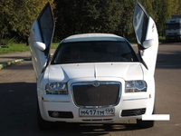 Лимузин Chrysler 300C Белый 10 мест
